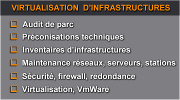 virtualisation-infrastructures