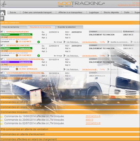 Logiciel Soo Tracking image1